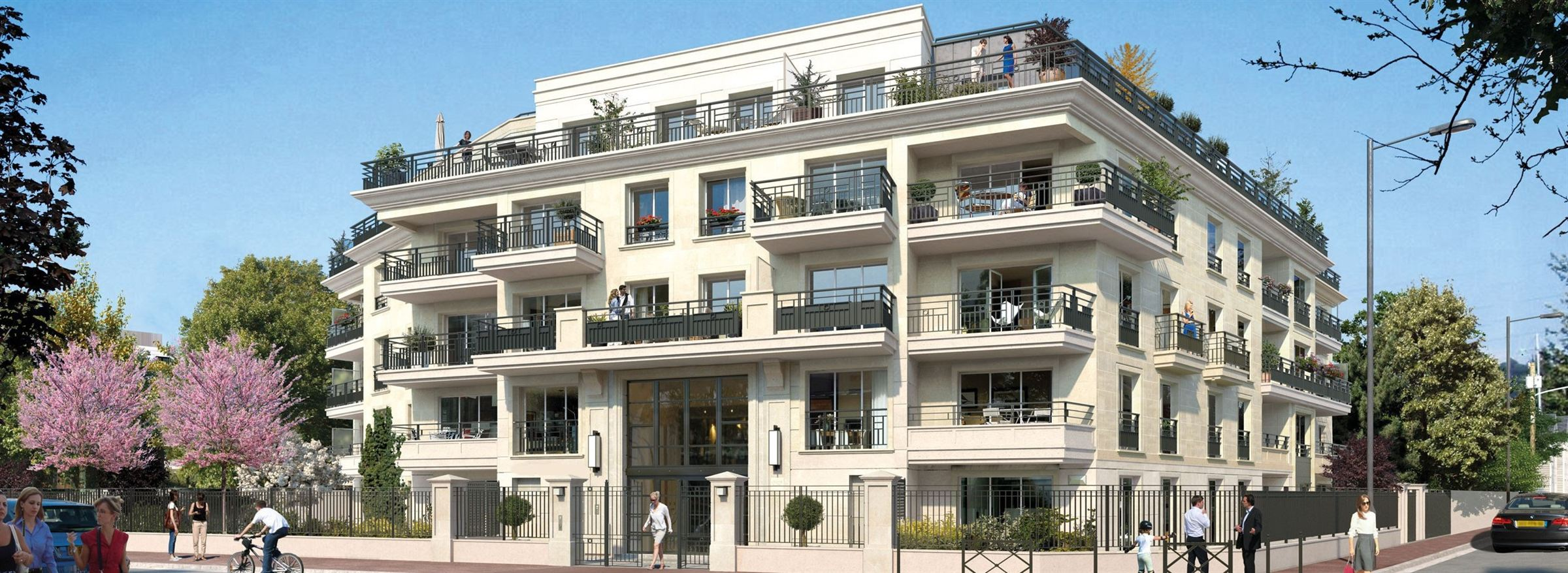 Saint-Maur – Appartement 2p – Terrasse – Jardin – Box