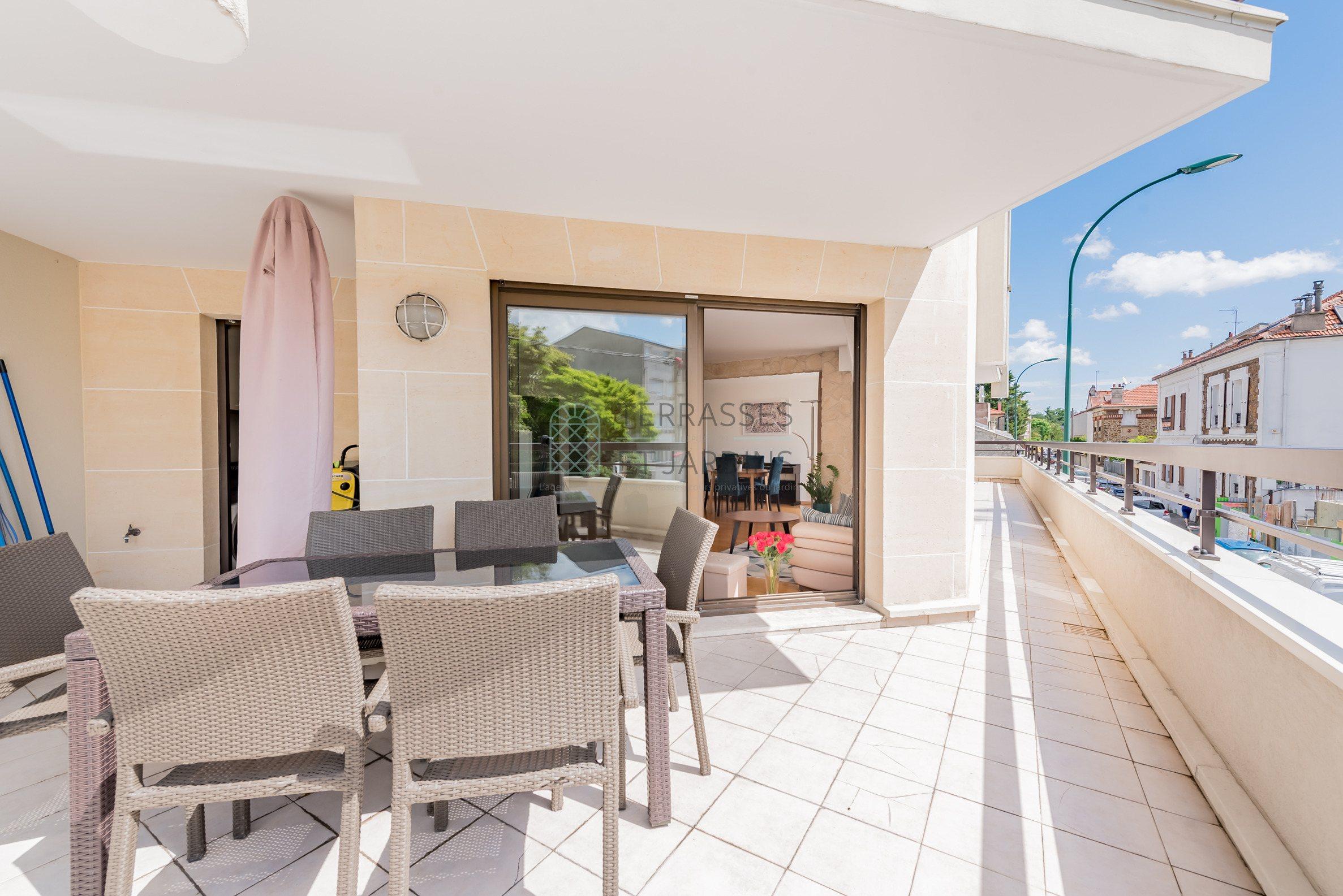Nogent s/Marne – Marché – Appartement 4p – Terrasse – Double box