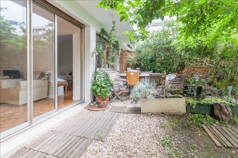 Saint Cloud – Appartement 2p – Jardin – Pkg