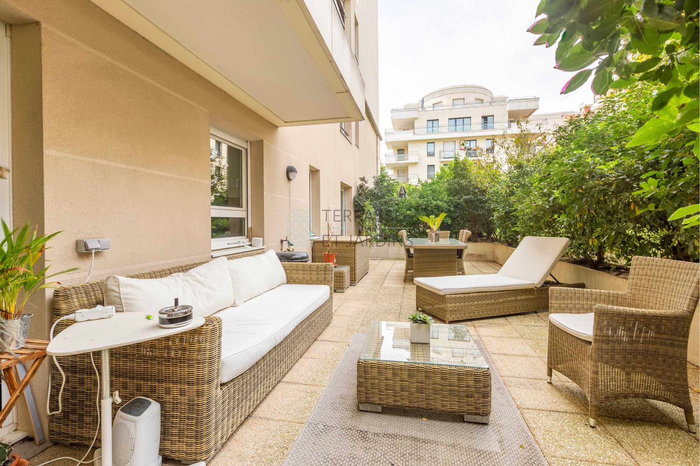 Montrouge – Centre – Appartement 2p – Terrasse