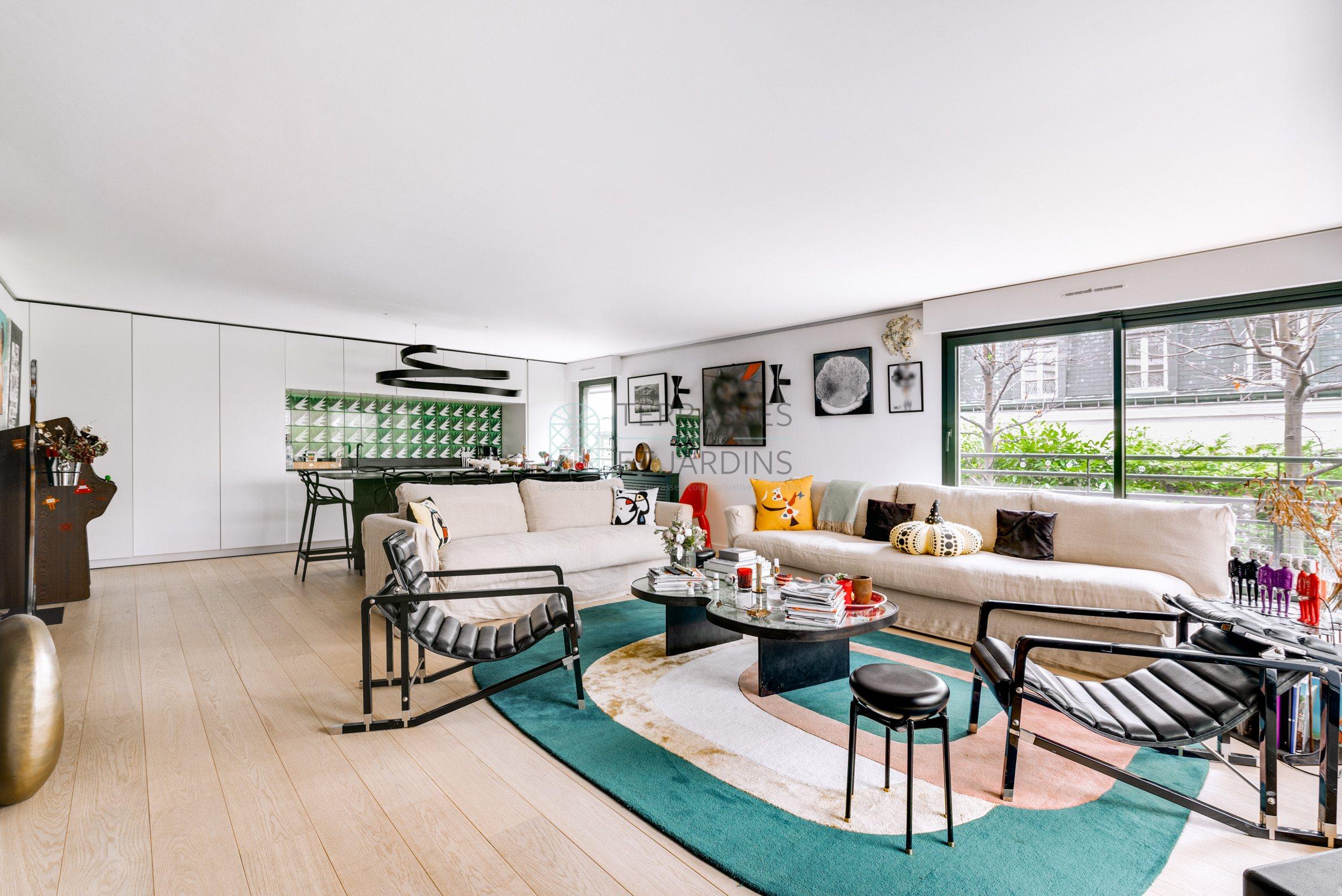 Paris 16 – La Muette – Appartement 4p – Terrasse – Jardin