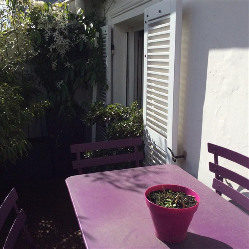 Appartement 2p vendre paris 09 avec terrasses et for Appartement paris terrasse jardin