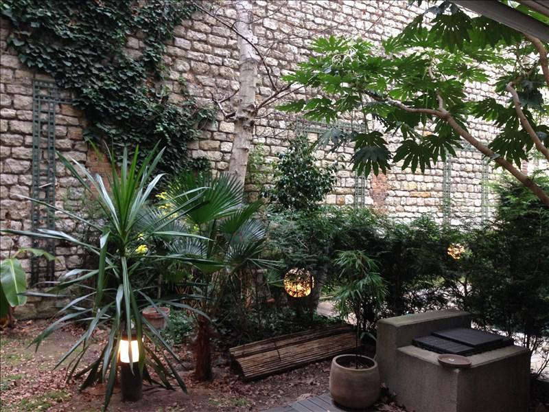 Appartement 2p vendre paris 17 avec terrasses et for Appartement paris terrasse jardin