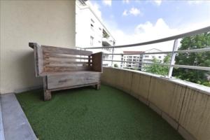 Appartement p à vendre à villeurbanne terrasses et jardins