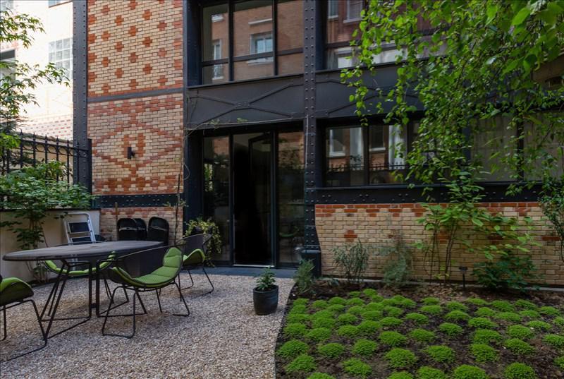 Appartement 3p vendre levallois perret terrasses et for Appartement jardin