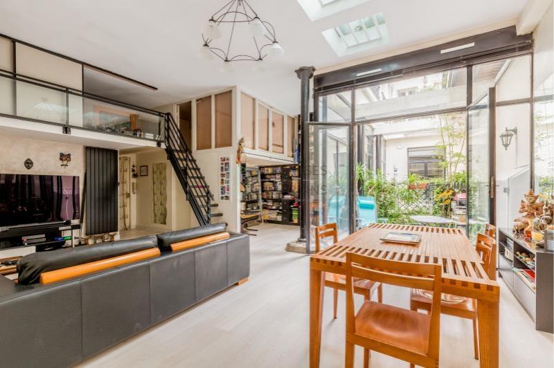 Paris 11 – Mairie – Appartement Loft 3p – Patio