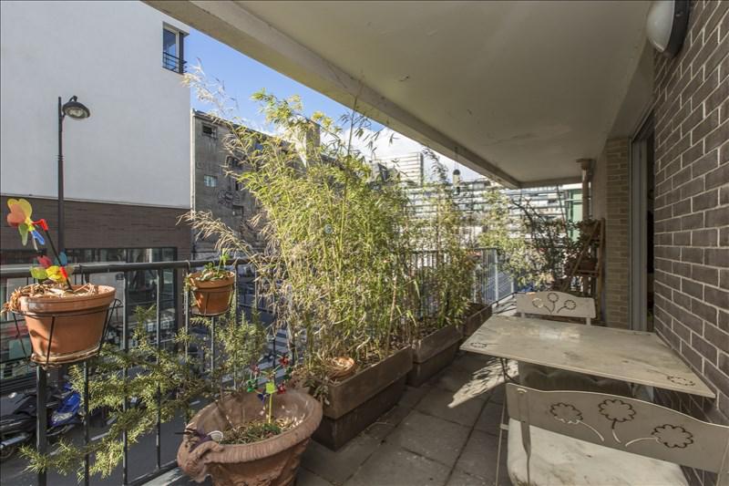Appartement 3p vendre paris 13 avec terrasses et for Appartement paris terrasse jardin