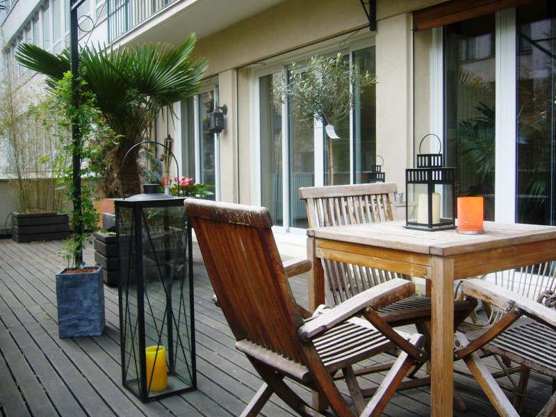 Appartement 3p vendre paris 17 avec appartement avec for Appartement paris terrasse jardin