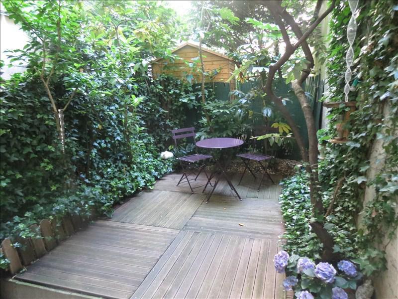 Appartement 3p vendre paris 19 avec appartement avec for Appartement avec jardin paris