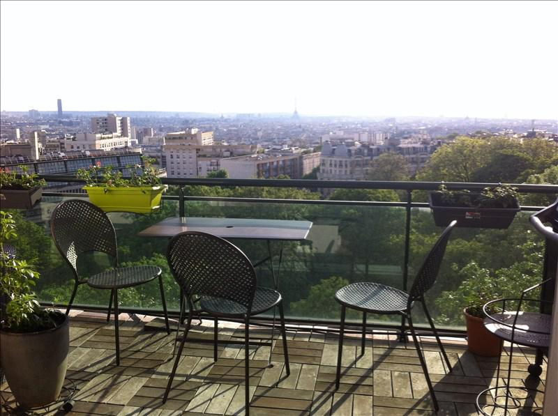 Appartement 3p vendre paris 19 avec terrasses et for Appartement terrasse a paris