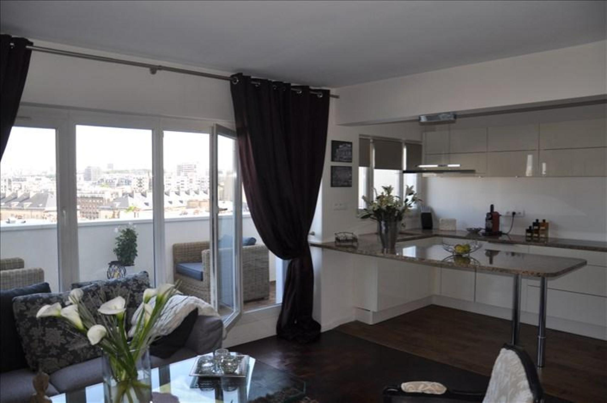 Appartement 3p vendre paris 13 avec appartement avec for Appartement balcon paris