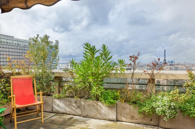 Paris 14  – Appartement 6p – Terrasses – Vue  Tour Eiffel