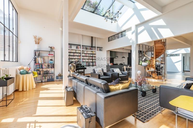 Montreuil – Bas-Montreuil – Loft 8p – Toit-terrasse – Pkg