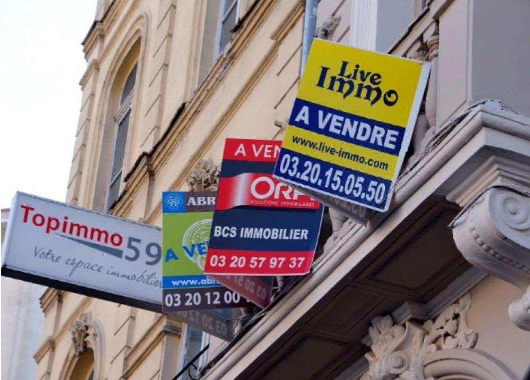 Les Français et les agents immobiliers ?