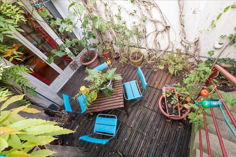 Paris 19 - Mouzaïa - Maison 5p - Terrasse - TERRASSES ET JARDINS