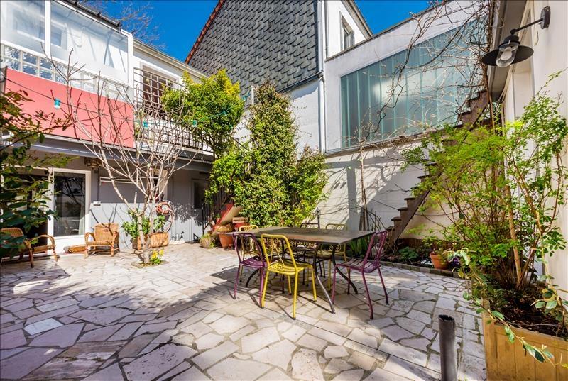 Maison 5p vendre paris 15 avec terrasses et jardins for Terrasses et jardins paris