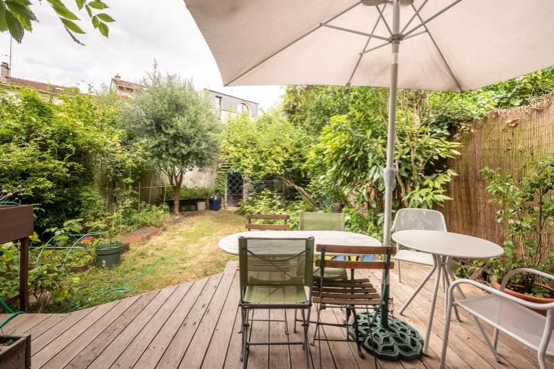 Maison 7p à vendre à PARIS 13 avec Maison jardin terrasse ...
