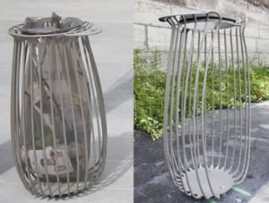 Nouveau design pour les poubelles parisiennes