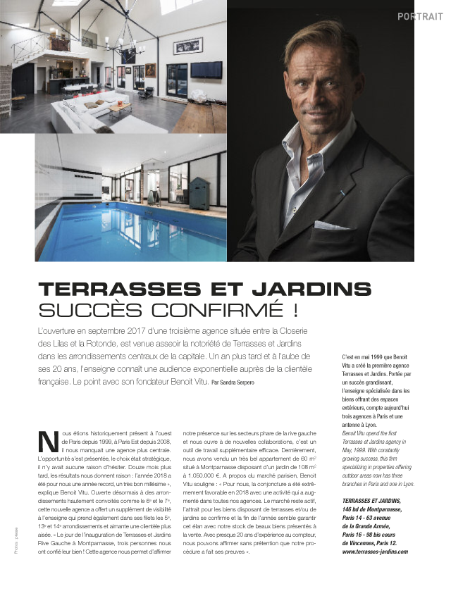 Portrait – Magazine Résidences Immobilier n°53