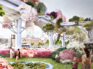 A Séoul, un parc baptisé Skygarden
