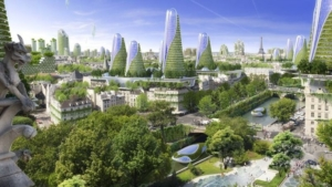 Paris Smart City 2050 : cauchemar verdâtre ?